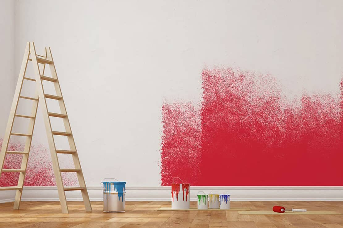 Why Paint Color Matters for Homes in Alexandria, Virginia (VA) for Affecting Room Mood with Reds