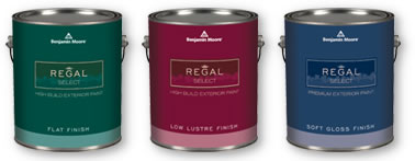 Benjamin Moore Regal Select Waterborne Exterior Paint