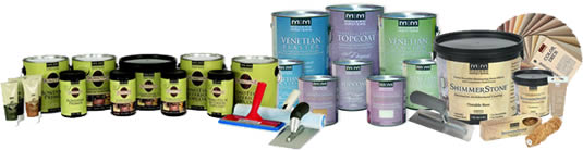 Modern Masters Metallic Paint Sizes and Sundries in Chevy Chase, DC