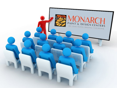 Seminars at Monarch Paint
