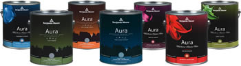 Benjamin Moore Aura Paint for Eco-friendly House Palettes in Chevy Chase, DC